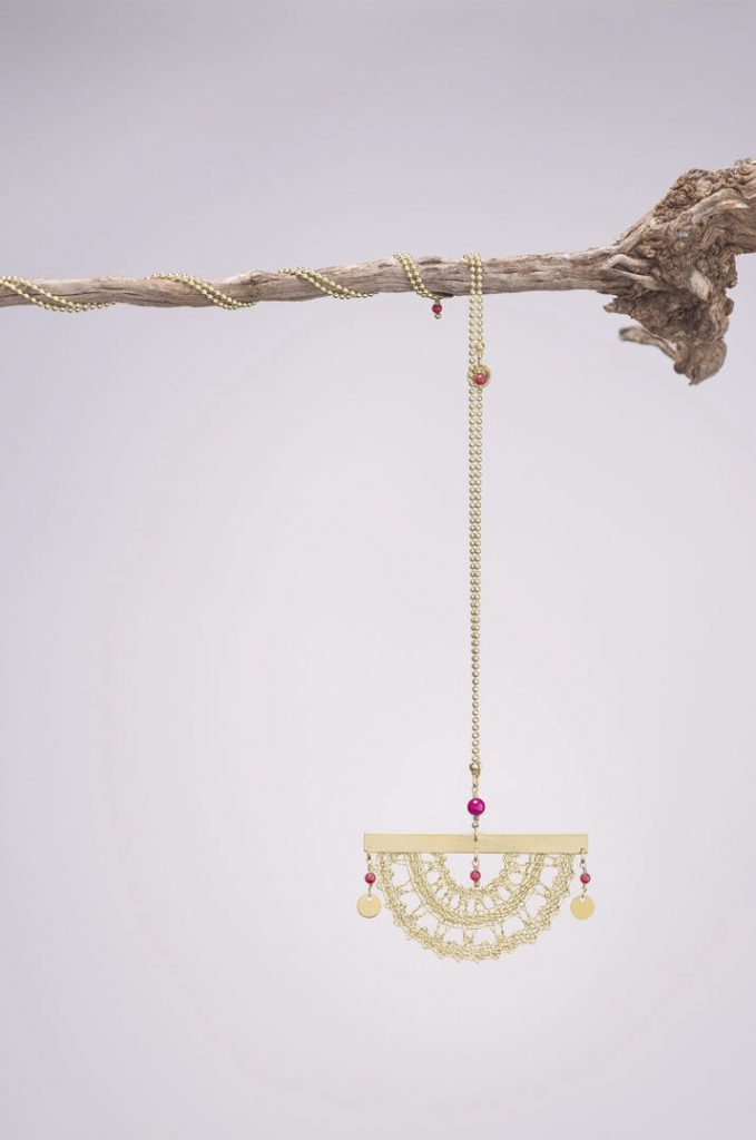 Ariadne's Thread – Sunglow – Bobbin Lace Jewellery +2